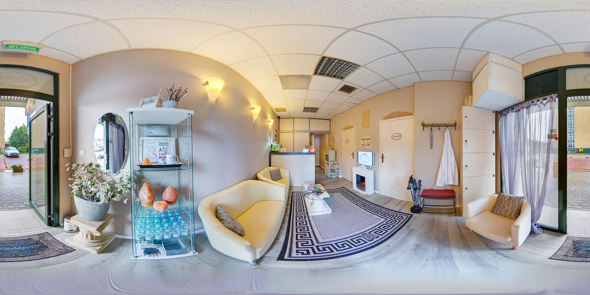 Gabinet masażu–Warszawa